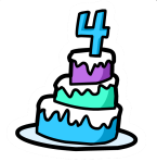 4th_anniversary_cake_pin