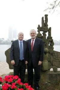 Ambassador David Shear with Senator John McCain US Embassy Vietnam: CODEL McCain – Jan 18-20, 2012