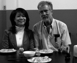 Le Thi Phuong Long and Doug Hostetter - 2013 (Photos: Village photographer)