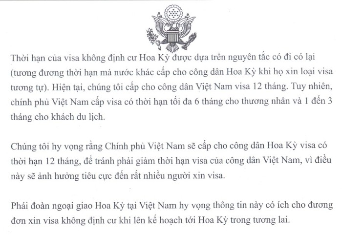 visa validity VIE