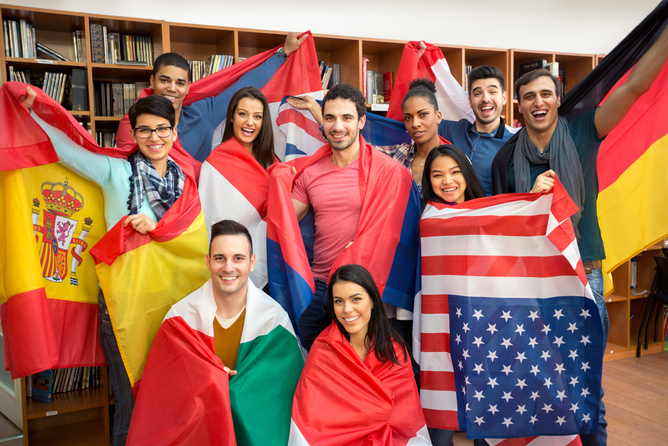How not to make them feel welcome. International students via Lucky Business/www.shutterstock.com