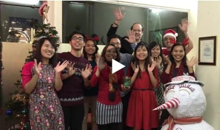 we wish you a merry christmas (hanoi staff)