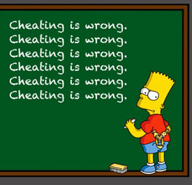 cheating_bart