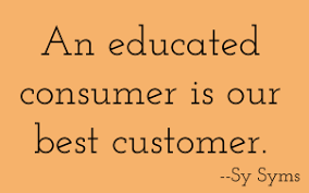 educated consumer