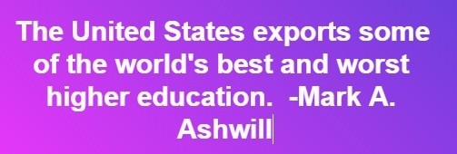 us higher ed export