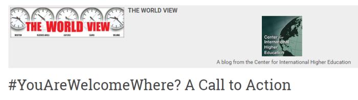 world view post ihe